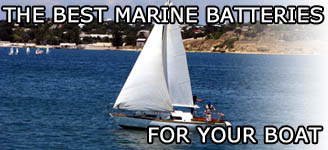 Marine batteries for all watercraft types