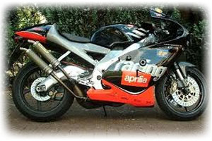 2000 Aprilia 250cc RS 250 Motorcycle