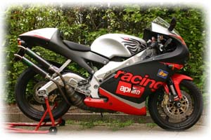 2001 Aprilia 250cc RS 250 Motorcycle