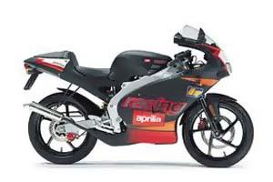 Aprilia 2002 50cc RS50 Motorcycle