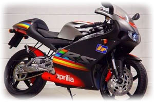 2003 Aprilia 250cc RS 250 Motorcycle