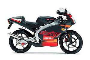 Aprilia 2003 50cc RS50 Motorcycle
