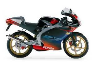 Aprilia 2004 50cc RS50 Motorcycle