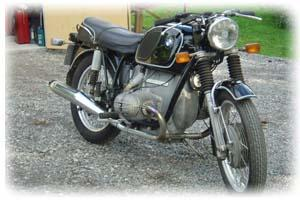 BMW 1969 R60/5 Motorcycle