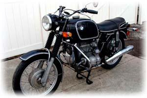 BMW 1970 R75/5 Motorcycle