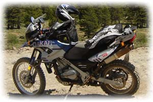 BMW 2006 F650 Dakar Motorcycle