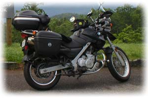 BMW 2007 650cc F650GS Motorcycle