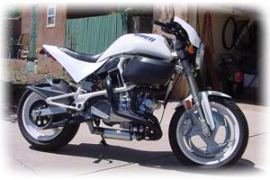 Buell 1998 1200cc S1 Lightning motorcycle