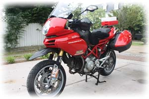 Ducati 2006 1000cc 1000DS Multistrada Motorcycle