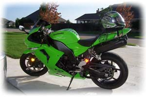 2007 Kawasaki 1000cc ZX1000-C Ninja (ZX-10R) Motorcycle Batteries