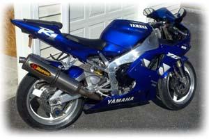 Yamaha R1 Gas Tank Size