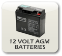 UPG 12 Volt AGM Batteries