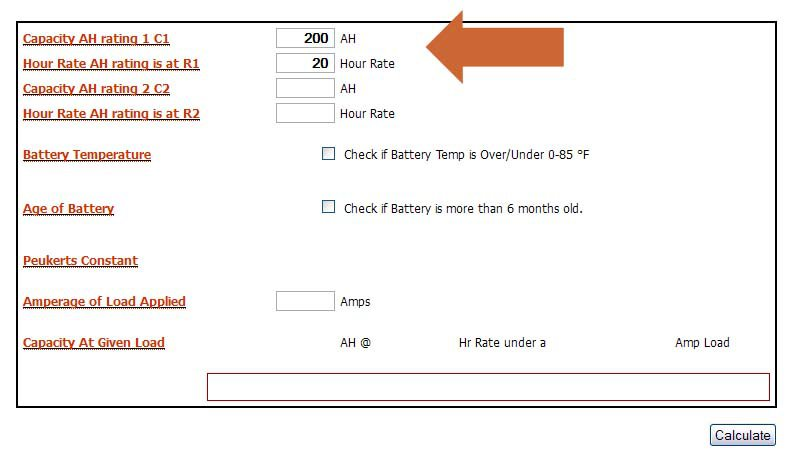 Calculating how big your battery needs to be Caravans Plus