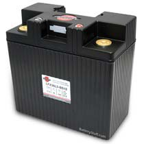 LFX36L3-BS12 Shorai 12v 36 AH PBEq LiFePO4 Power Sports Battery [- +]
