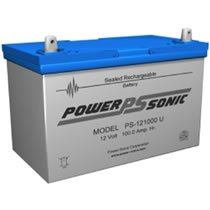 Power Sonic 12v 100 AH Deep Cycle AGM Battery PS-121000