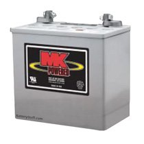 Battery on Mk Battery 12 Volt 50 Ah Deep Cycle Gel Battery  8g22nf