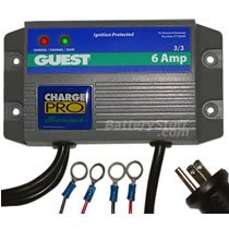 Marinco Guest 12v/24v 6 Amp 2 Bank On-Board Marine Charger GU2607A