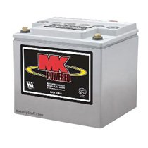 MK Battery 12v 40 AH Deep Cycle Gel-Cell Battery M40SLDG