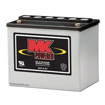 MK Battery 12v 33 AH Deep Cycle Sealed AGM Battery U1HR1500S