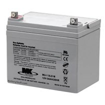 MK Battery 12v 34 AH Sealed Mobility Wheelchair AGM Battery ES33-12