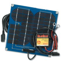 Pulse Tech 12v 5 Watt Solar Charger with Desulfator Controller SP-5