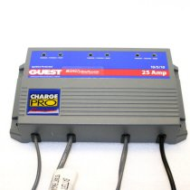 Marinco Guest 12v/24v 10/5 Amp 3 Bank On-Board Marine Charger GU2623A