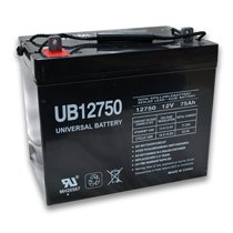 Universal 12v 75 AH Deep Cycle Sealed AGM Battery UB12750-45821