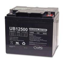 ub12500 45977 universal 12v 50ah deep cycle agm battery ub12500. Black Bedroom Furniture Sets. Home Design Ideas