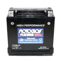 YTX20HL-BS-PW Motocross 12v 310 CCA AGM Personal Watercraft Battery