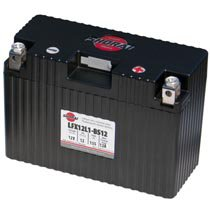 LFX12L1-BS12 Shorai 12v 12 AH PBEq LiFePO4 Power Sports Battery [- +]