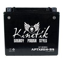 YTX20H-BS Universal Kinetik 12v 270 CCA AGM Power Sport & Motorcycle Battery