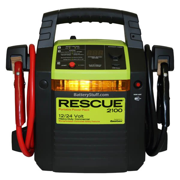 rescue 1800 jump pack manual