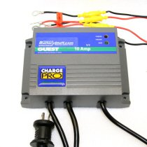 Marinco Guest 12v/24v 10 Amp 2 Bank On-Board Marine Charger GU2611A