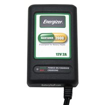 Energizer 12v 2 Amp Battery Smart Charger/Maintainer E-1202