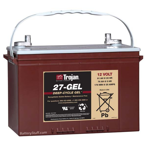 Marathon Gel Cell Battery