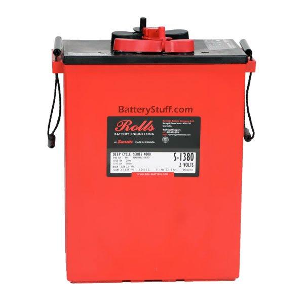 Solar Ups Rolls Surrette Battery 2 Volt 1124ah S 1450