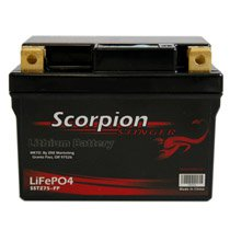 SSTZ7S-FP Scorpion Stinger 12v 219 CCA LiFePo4 Extreme High Output Battery