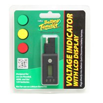 Battery Tender Digital Voltage Indicator with LCD Display- BT-081-0157