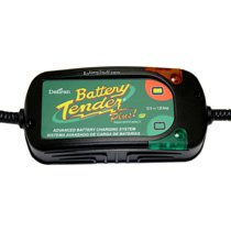 Battery Tender Plus High Efficiency 12v 1.25 Amp 4 Stage Smart Charger BT-022-0185G-DL-WH