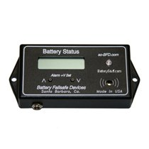 12v-48v Low Battery Low Voltage Alarm with LCD Display LCD-HV