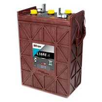 Trojan 6v 325 AH Deep Cycle Premium Line Flooded Battery - L16RE-A