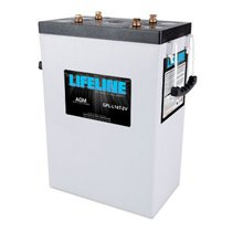 Lifeline 2v 1200 AH Deep Cycle Sealed AGM Battery - GPL-L16T-2V
