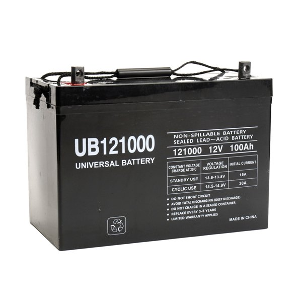 Universal 12v 100 Ah Deep Cycle Sealed Agm Battery