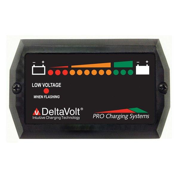Pro Charging Systems 12 Volt Battery Fuel Gauge Bfg12v