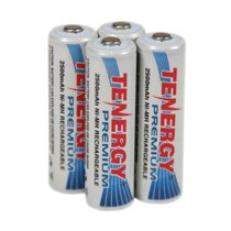 Tenergy Premium AA Cell 2500 mAh NiMH Rechargeable Battery 4-Pack - AA-10320x4