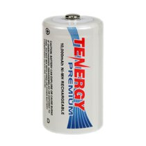 Tenergy Premium D Cell 10,000 mAh NiMH Rechargeable Battery - D-10105